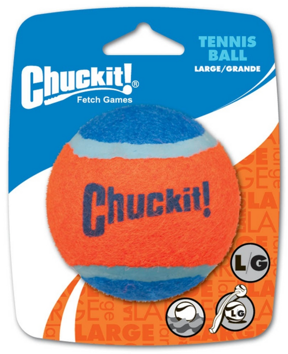 Chuckit! Tennis Ball Dog Toy ~ Large - Le Pet Luxe