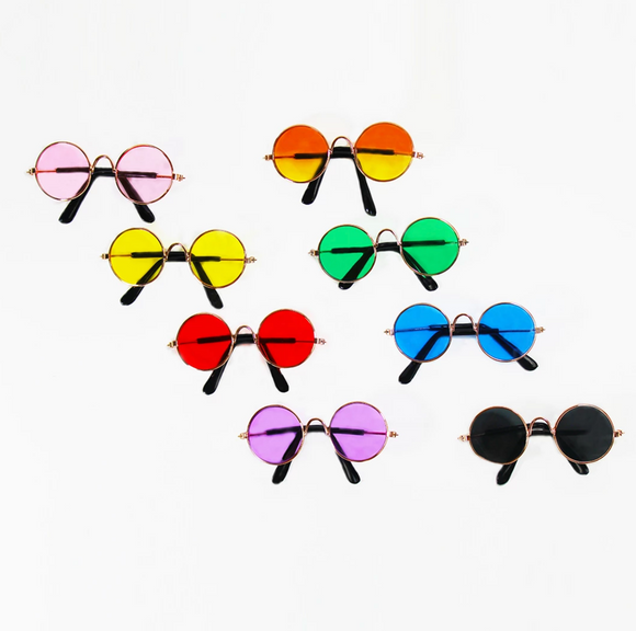 Round Sunglasses - Le Pet Luxe
