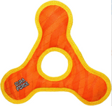 TriangleRing Tiger Dog Toy, Large ~ Orange - Le Pet Luxe