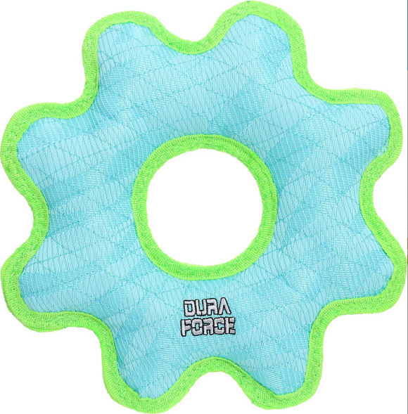 Gear Ring Dog Toy, Large ~ Blue - Le Pet Luxe