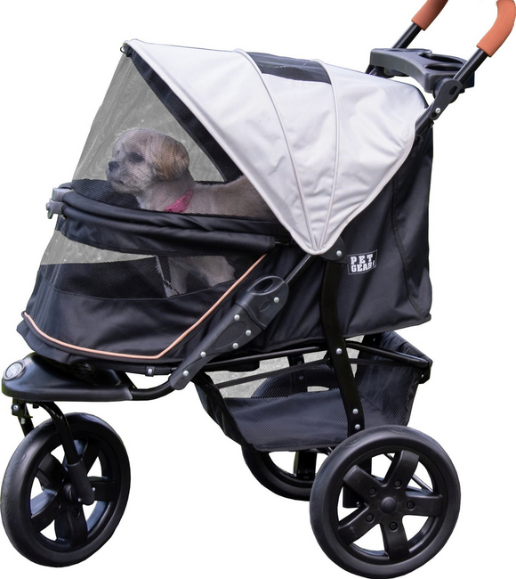 AT3 No-Zip Stroller - Le Pet Luxe