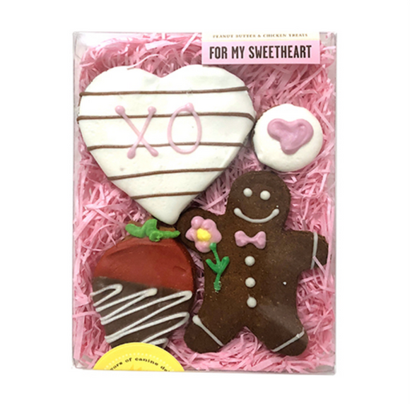For My Sweetheart Dog Treats - Le Pet Luxe