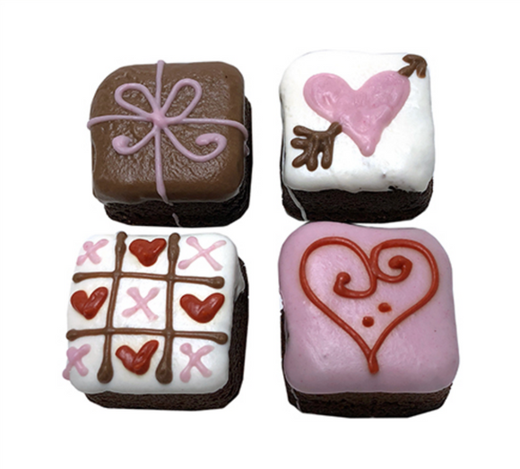 Love Brownie Bites (Case of 12) Dog Treats - Le Pet Luxe