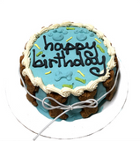 Dog Birthday Cake ~ Blue - Le Pet Luxe