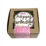 Dog Birthday Baby Cake ~ Pink - Le Pet Luxe