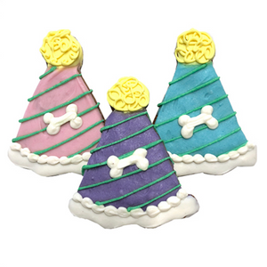 Party Hats Dog Treats (case of 12) - Le Pet Luxe