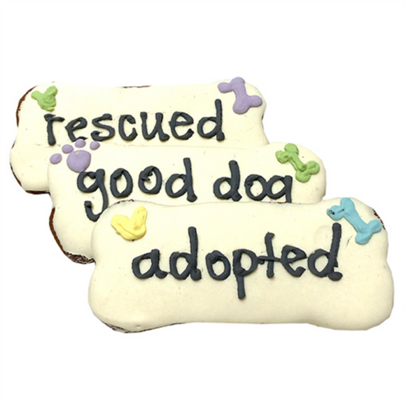 Adopted / Rescued / Good Dog Treats (case of 12) - Le Pet Luxe