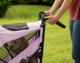 Excursion NO-ZIP Pet Stroller ~ Mountain Lilac - Le Pet Luxe