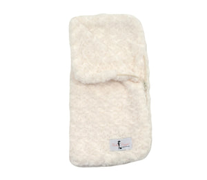 Snuggle Pup Sleeping Bag Dog Blanket ~ Cream - Le Pet Luxe