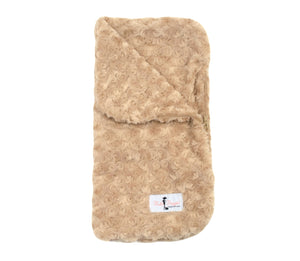 Snuggle Pup Sleeping Bag Dog Blanket ~ Tan - Le Pet Luxe