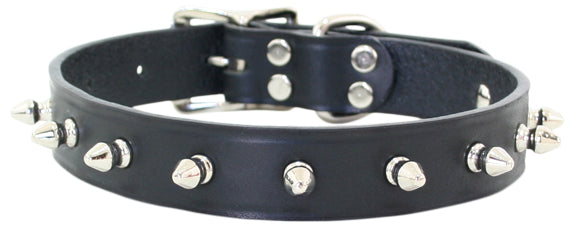 Spike Dog Collar ~ Black