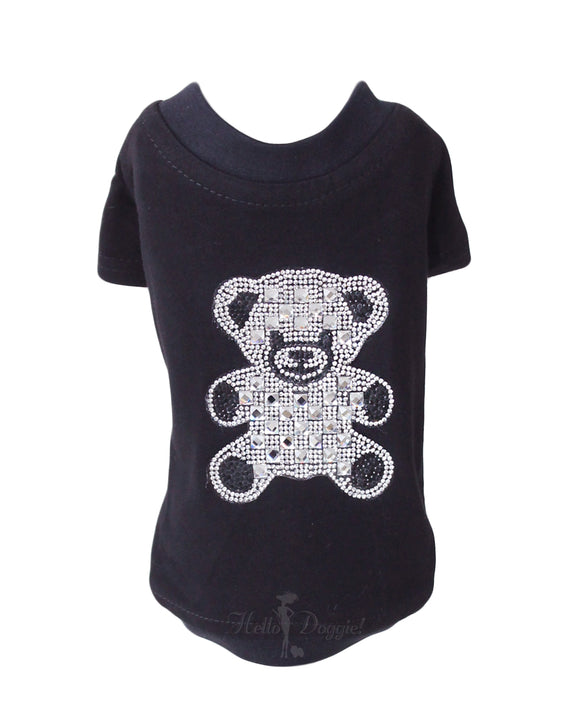 Teddy Bear Dog Shirt ~ Black - Le Pet Luxe