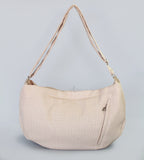 Vienna Luxury Messenger Sling Egg Shell - Le Pet Luxe