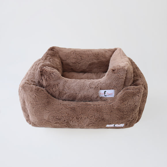 Bella Dog Beds - Mocha - Le Pet Luxe