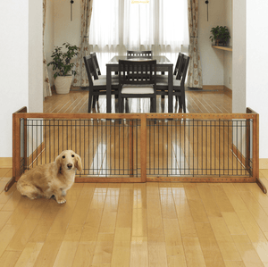Freestanding Pet Gate Large - Le Pet Luxe