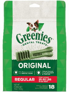 GREENIES™ Original Regular Size Dog Dental Treats - Le Pet Luxe