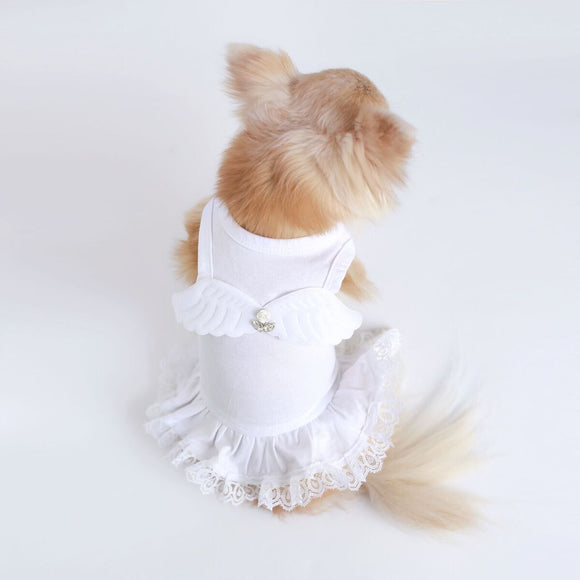 Lil' Angel Dog Dress - Le Pet Luxe