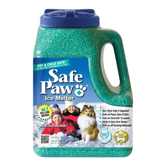 Safe Paw Ice Melter ~ 8 lb Jug - Le Pet Luxe