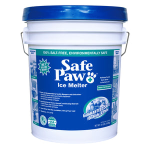 Safe Paw Ice Melter ~ 35 lb Commercial Pail - Le Pet Luxe