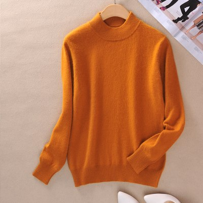 LHZSYY 2017 Women's Sweater Fashion Slim Solid Autumn and Winter Warm Knit Turtleneck Pullover Sweater Women 22 color selection-lilugal