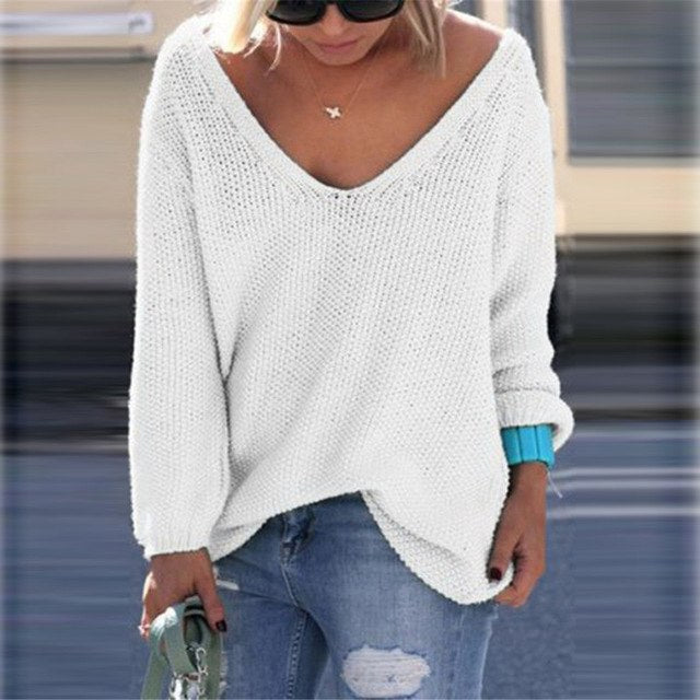 YJSFG HOUSE Autumn Winter Women Sweaters and Pullovers Long Sleeve Casual Crop Sweater Slim Solid knitted jumpers Sueter Mujer-lilugal