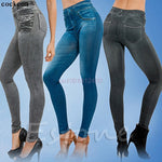1PC Women Jeans Skinny Jeggings Stretchy Denim Pencil Pants Leggings Jeans Tight Trousers-lilugal