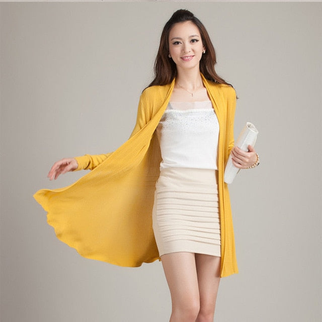 Oversized Cape Poncho Women Sweaters Wholesale Summer Autumn Cardigan Feminino Long Sleeve Knit Tops Coat Long Cardigan Women-lilugal