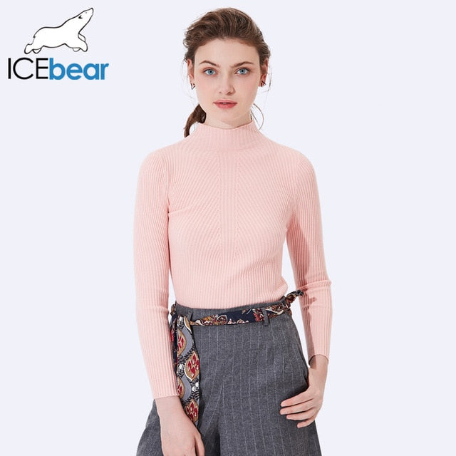 ICEbear 2017 New Arrival Women Casual Pullovers Sweaters Autumn Women's Sweater Pullover Design Comfortable Sweater SZ0705D-lilugal