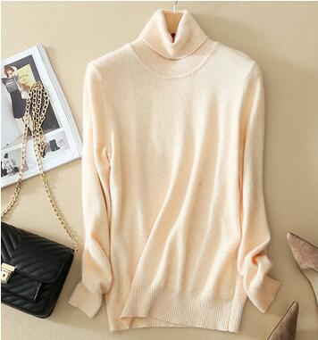 New 2017 Autumn Fashion Women Sweater Plus Size Elastic Turtleneck Sweater Women Slim Sexy Tight Bottoming Knitted Pullovers-lilugal