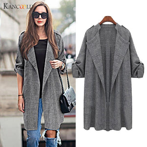 New Fashion Cardigans 2017 Casual Long Sleeve Cardigans Sweater For Women Coat Outwear Plus Size Chaqueta De Mujeres Feminino-lilugal