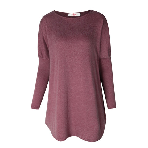 Sweater Tops Women 2017 Autumn Winter Long Sleeve Plus Size Pullovers Elegant Women Loose Female Sweater Clothing WS1401Y-lilugal