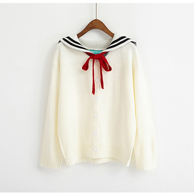 Ladies Loose Outwear Winter Preppy Style Knitwear Cute Harajuku Kawaii Lotita Autumn Women Sweaters and Pullovers SWT586-lilugal