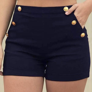 Woman jeans 2018 Women Casual Plus Size Zipper Elastic Band Hot Pants Lady Summer Shorts Trouser 7.13-lilugal