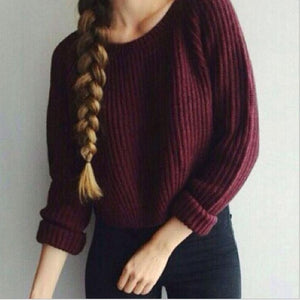 AVODOVAMA M 2018 Women Sweaters Autumn Winter Fashion Casual Solid Pullovers Long Sleeve Slim Knitted Female Sweater-lilugal
