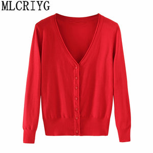 Spring Lady's Knitted Sweater Plus Size 5xl Cardigans for Women Long Sleeve Female Cardigan Short Sweaters sueter mujer YQ213-lilugal