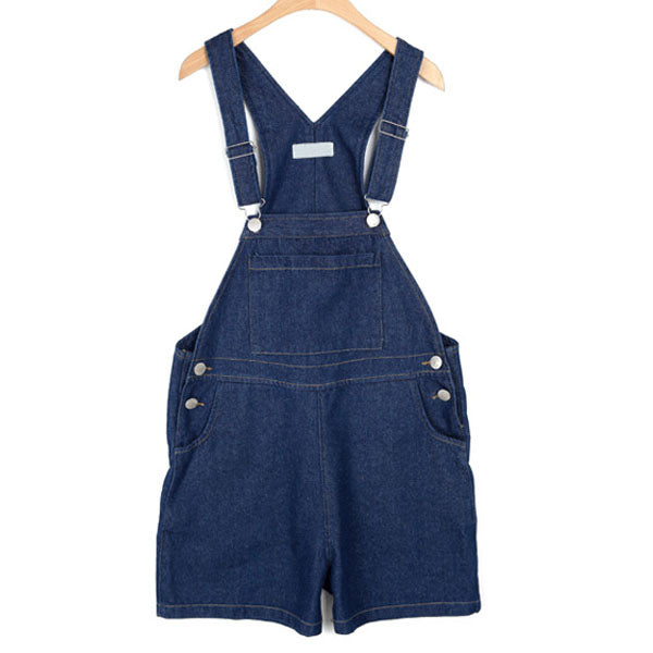 Voobuyla 2018 Summer Loose Harness Shorts Jeans Women Plus Size Denim Shorts Female High Waist Sequined Strap Jeans Overalls-lilugal