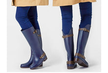 Charger l'image dans la galerie, Women Knee-high Rain BootsTall Buckle