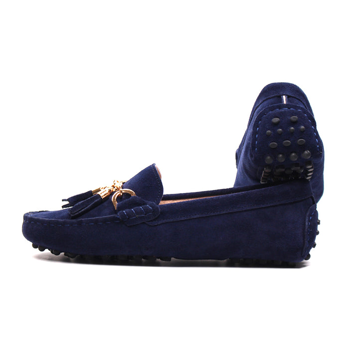 Womens Genuine Leather  Moccasins