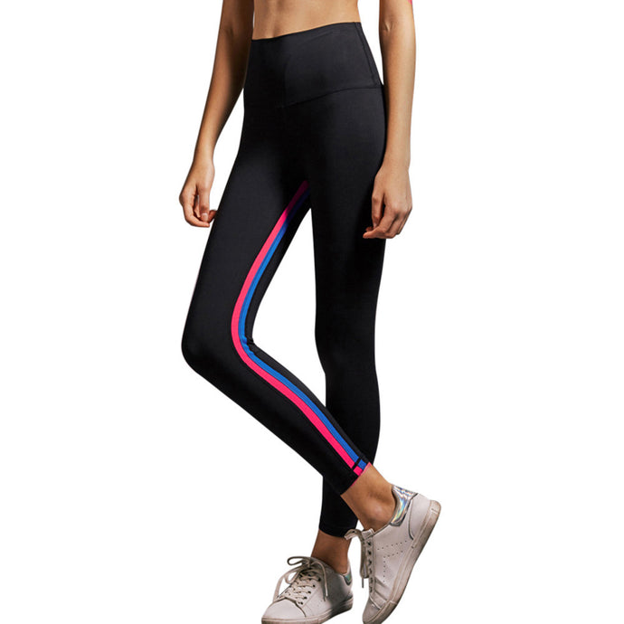 Women Sports Black Leggings