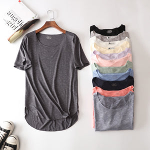 Cotton Summer Loose Women T-shirt