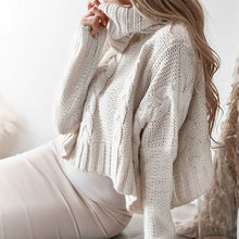 Charger l'image dans la galerie, Turtleneck Crop Sweater