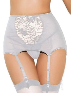 Lingerie high waist Lace stocking Belt