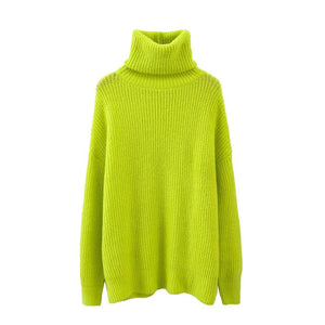 Women Stylish Oversized Knitted Sweater