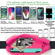 Charger l'image dans la galerie, Running Belt with Clear Touch Screen for iPhone Samsung