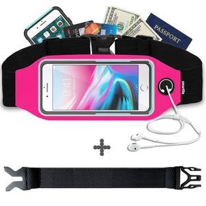 Running Belt with Clear Touch Screen for iPhone Samsung