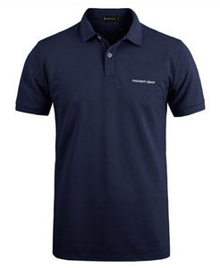 Men Cotton Polo Shirt Short Sleeve