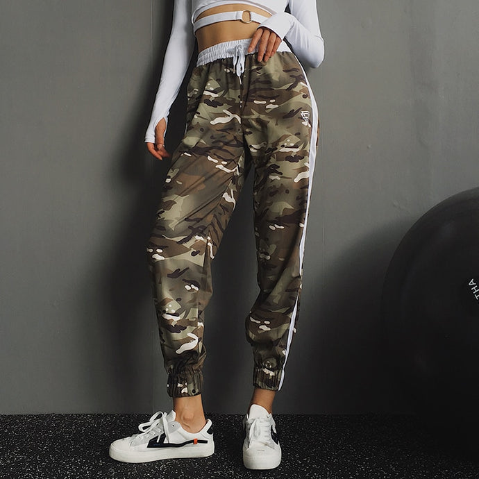 Women Camo Running Trousers