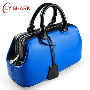 Women 2019 Doctor Genuine Leather Bag