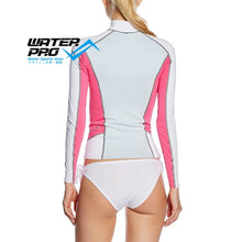 Charger l'image dans la galerie, Women Mares Rash Guard Long Sleeve & Shorts She Dives UPF protection 50+ Cool Lightweight Material Diving