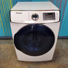 Samsung Frontload Steam ENERGY STAR 7.5 cu ft Gas Dryer with 14 Drying Cycles - Neu Appliances Austin